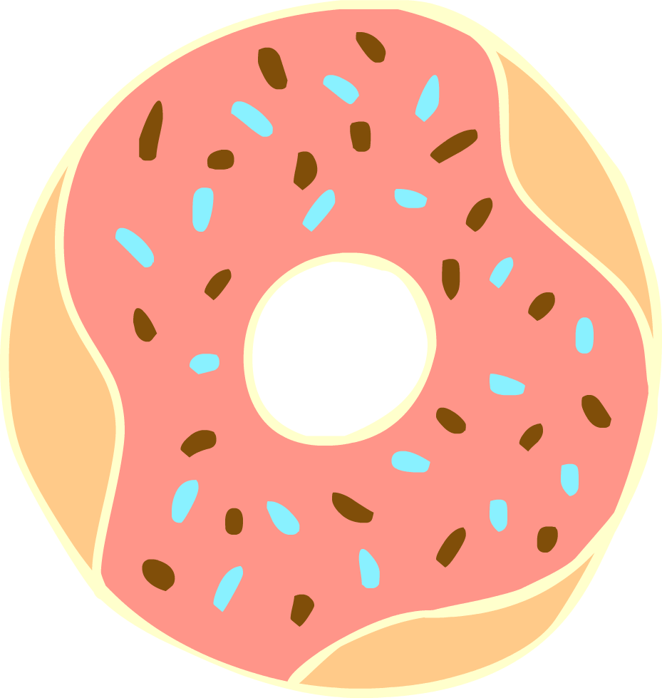 Free to Use & Public Domain Doughnut Clip Art