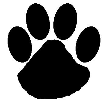 Wildcat Pawprint Clipart Best