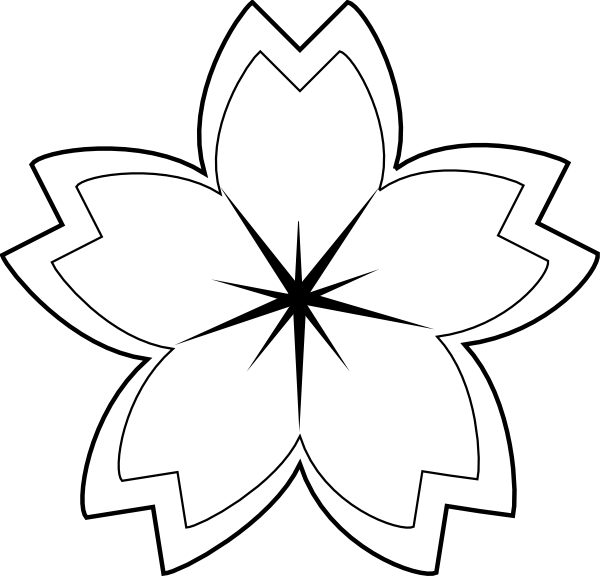 Lily Pad Outline - ClipArt Best