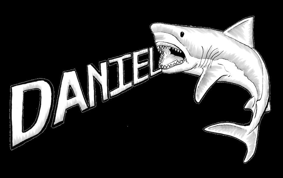 Line Drawing Shark : Shark line drawing clipart best