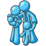 Family Hugging Clipart - ClipArt Best Hugging Family Clipart