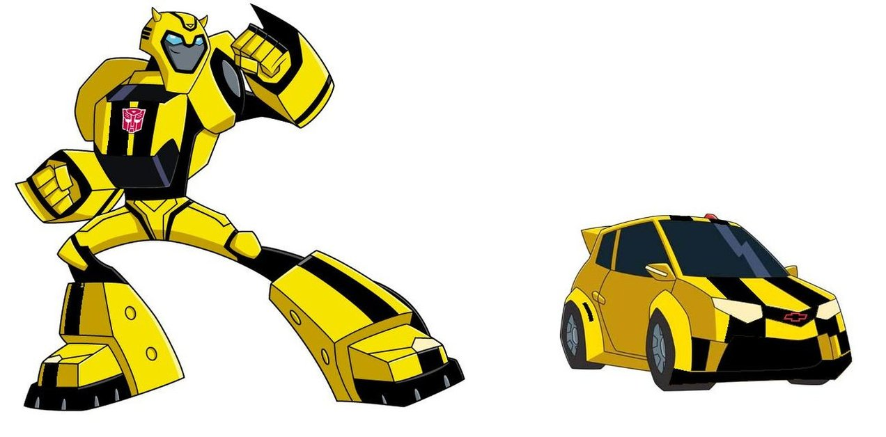 Bumblebee (Transformers Animated) vs Lighting McQueen - Battles ...