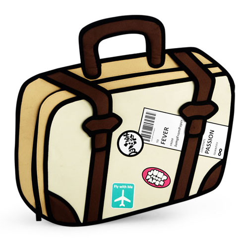 23 travel bags cartoons free cliparts that you can download to you ...