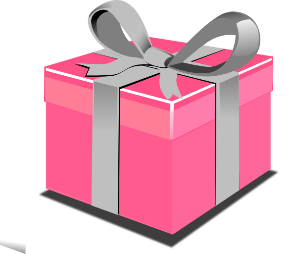 Clipart Pink Gift Boxes - ClipArt Best