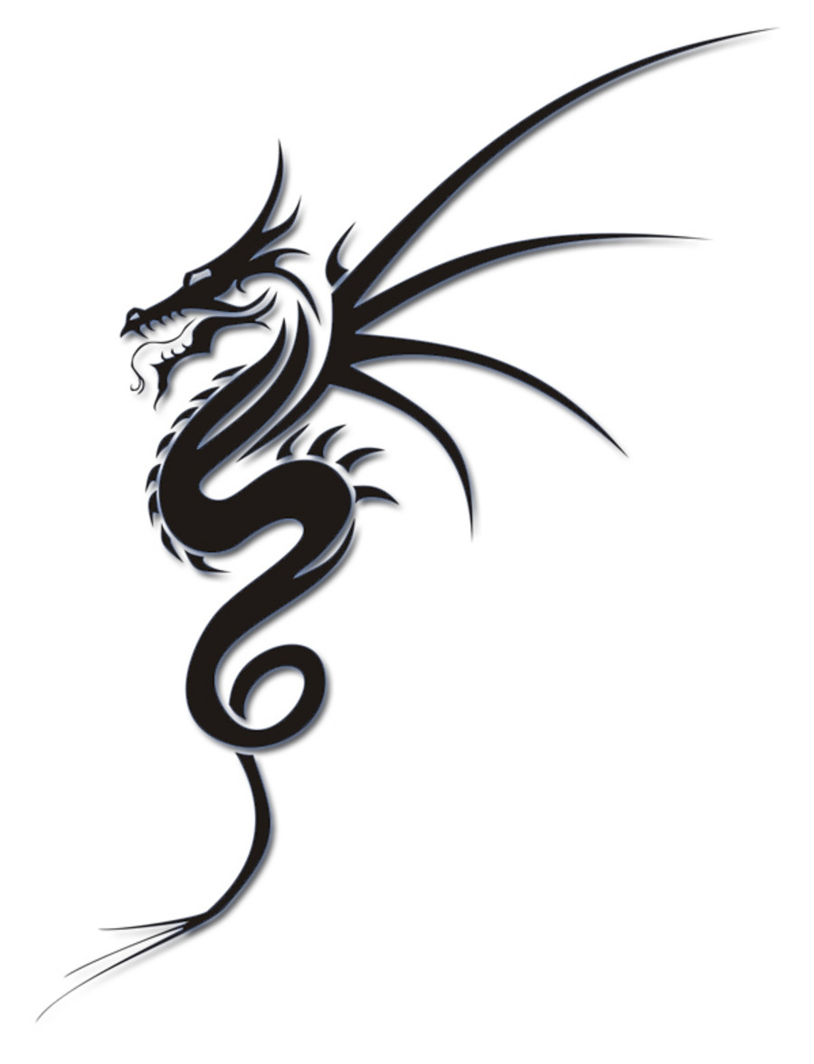 Simple Dragon Head Designs Simple Dragon Head Tattoo