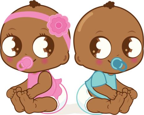 Twin Baby Shower Clip Art - ClipArt Best