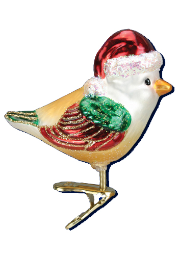 Merck Familys Old World Christmas Ornaments Birds with Clips Page 1