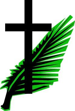 Palm Sunday Cross - ClipArt Best