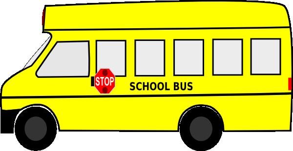 School Bus Drawings Short Bus Clip Art · School