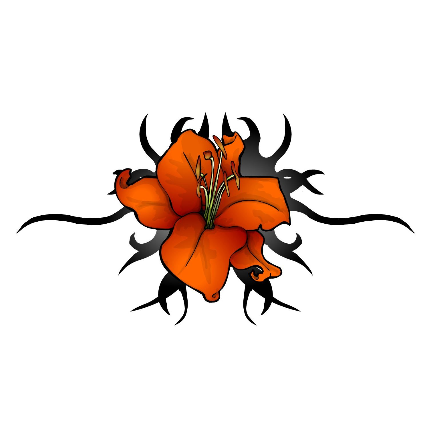 lily flower tattoo ideas clipart best. Black Bedroom Furniture Sets. Home Design Ideas