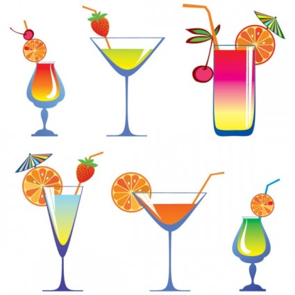Free Martini Glass Vector - ClipArt Best