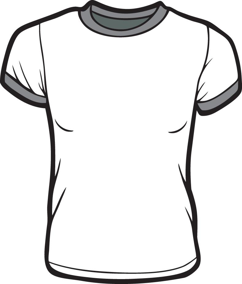 T shirt designing template clipart best for Design a shirt template