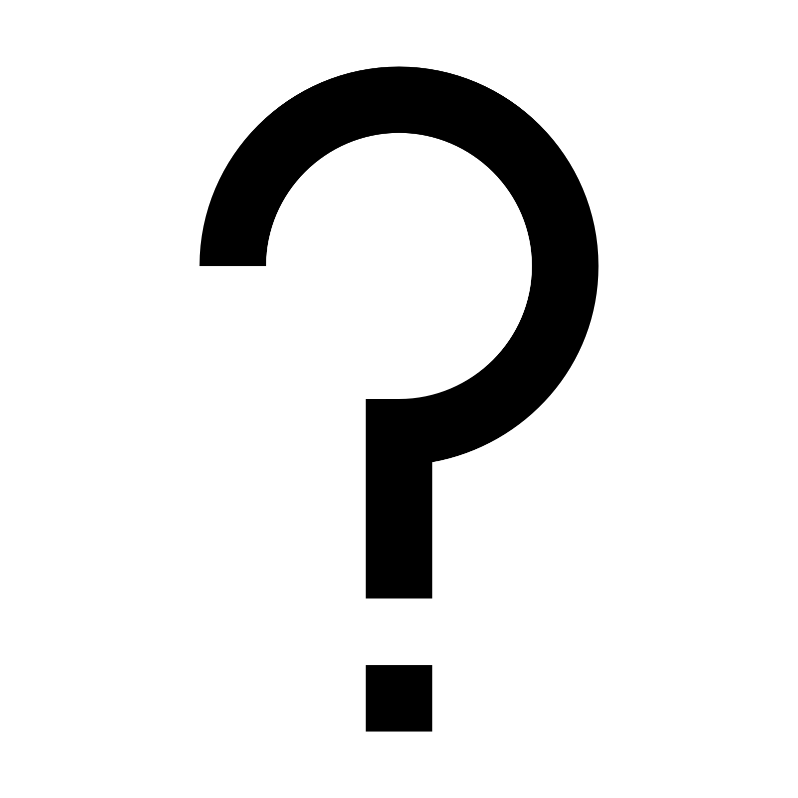 Question Mark Icon - Free Download at Icons8