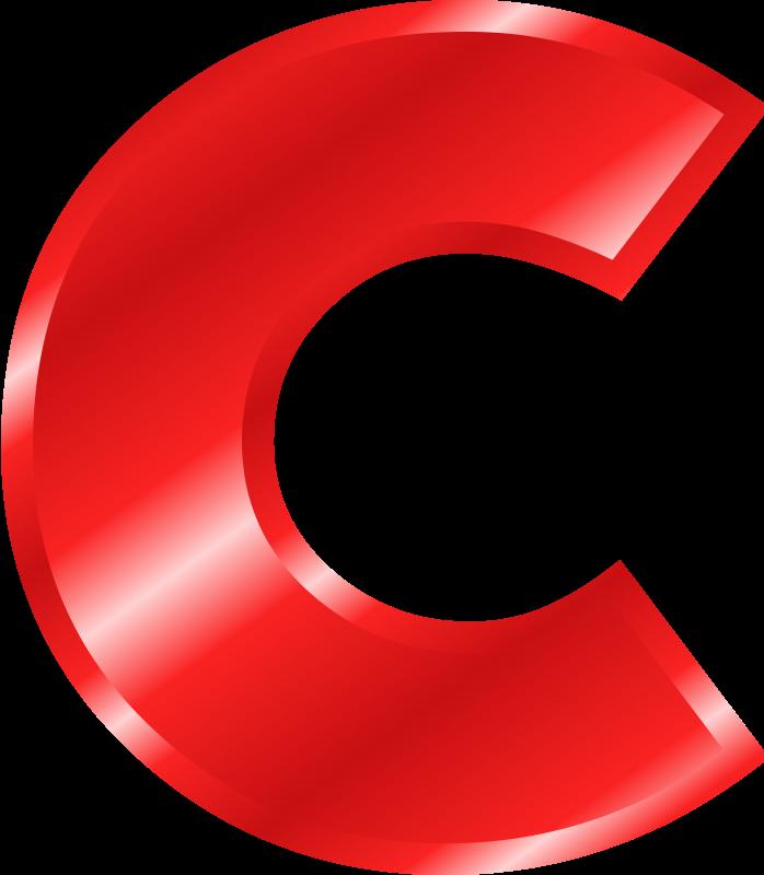 Script Letter C Clip Art - clipart finders