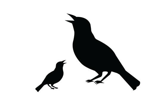 Copyright Free Bird Silhouette Clip Art - ClipArt Best