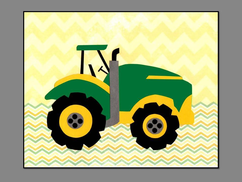 John Deere Tractor Cartoon Prints : John deere tractor cartoon images clipart best