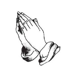 Eloquent image regarding printable praying hands