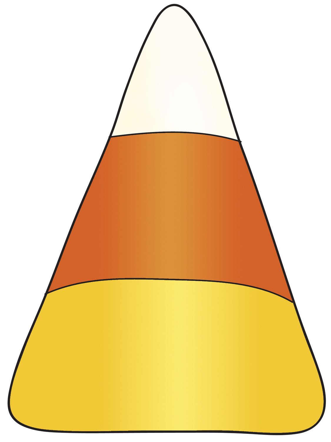 Candy Corn Template Printable