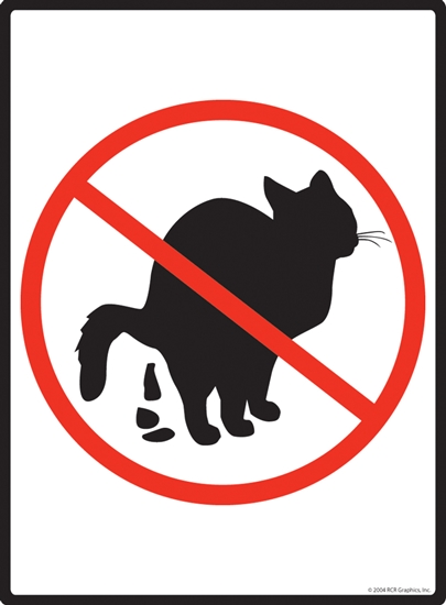 No Cats Sign - ClipArt Best