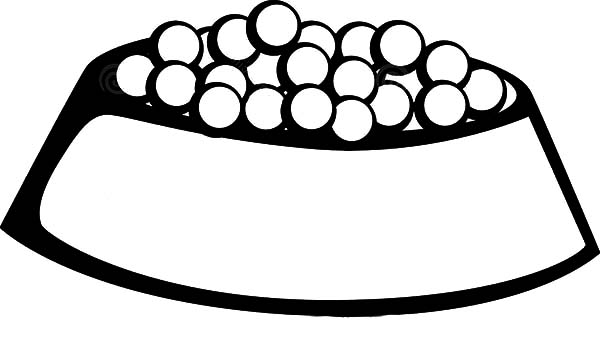 Bowl Coloring Page - ClipArt Best