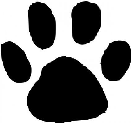 Tiger Paw Prints Clip Art - ClipArt Best