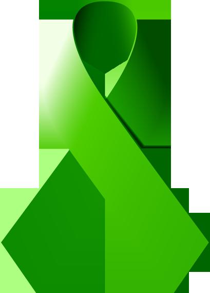 free clip art green ribbon - photo #12