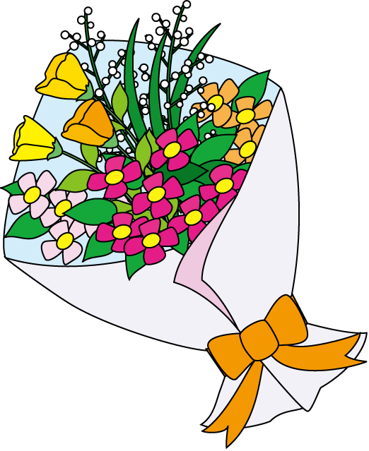 A Bouquet Of Flowers Clip Art Related Keywords & Suggestions, Long ...