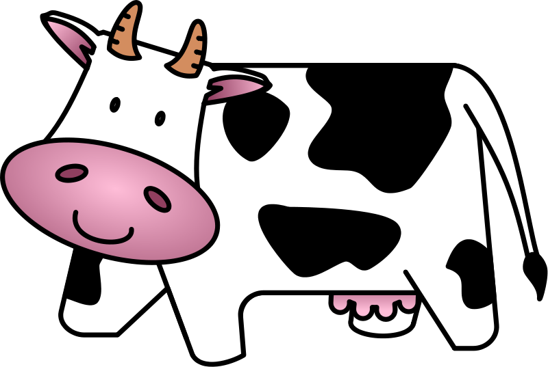 Free Cute & Friendly Cartoon Cow Clip Art - ClipArt Best - ClipArt ...