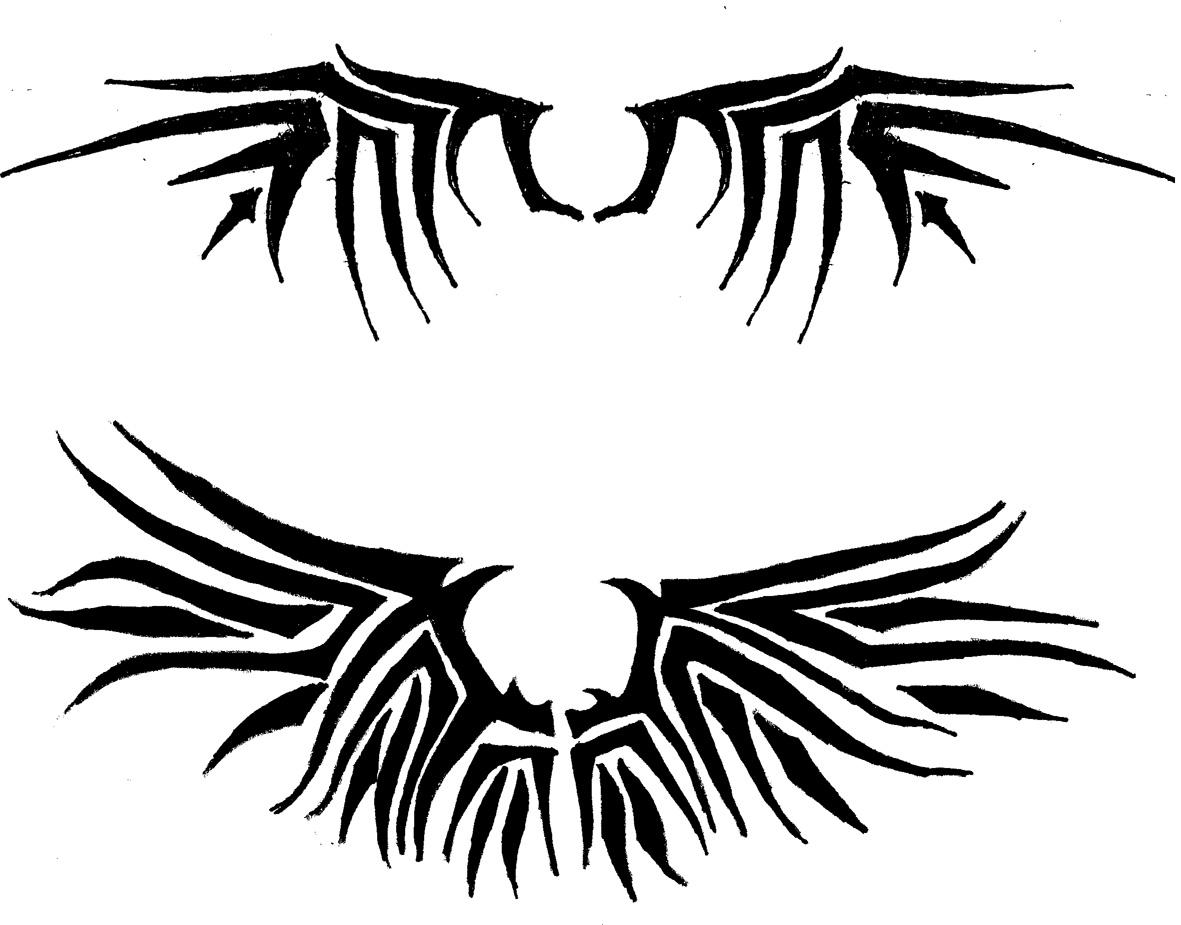 Simple Angel Wing Tattoos Design Angel Tattoos Simple Wings