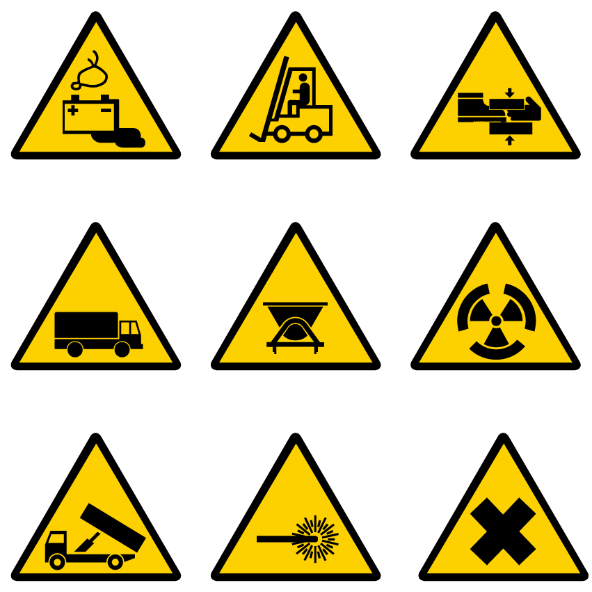 construction signs free vector clipart best
