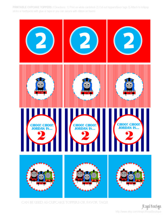 Thomas The Train Free Printables Clipart Best