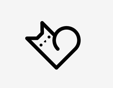 Tiny Cat Tattoo | Simple Cat Tattoo ...