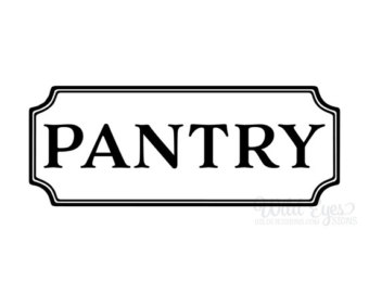 Kitchen Pantry Clipart