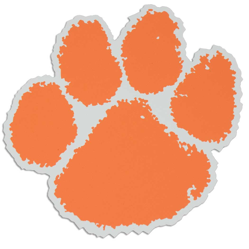 Clemson Tiger Logo Wall Art