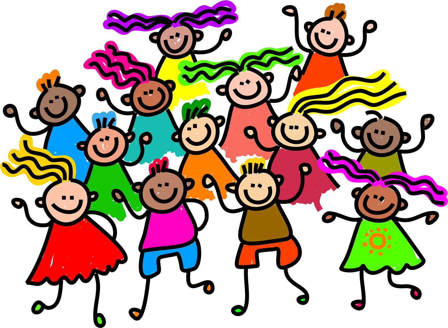 Kids Dancing Cartoon Clipart Best