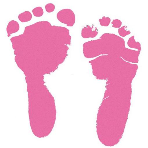 Buy baby footprint charm and get free shipping on