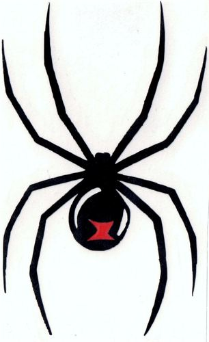 Black Widow Silhouette - ClipArt Best