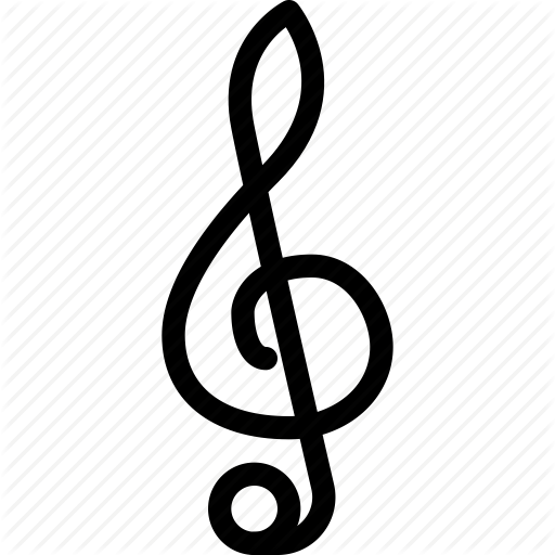 treble clef icon clipart best. Black Bedroom Furniture Sets. Home Design Ideas