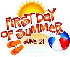 First Day Of Summer Clip Art - ClipArt Best