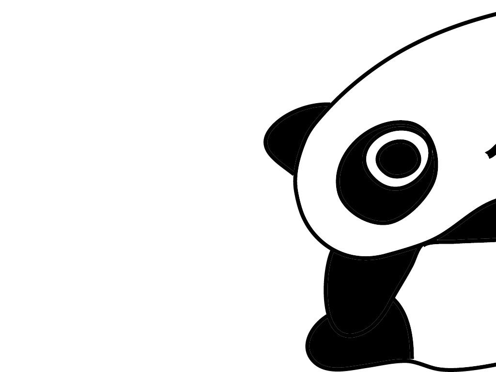 Gambar Kartun Panda Lucu Clipart Best
