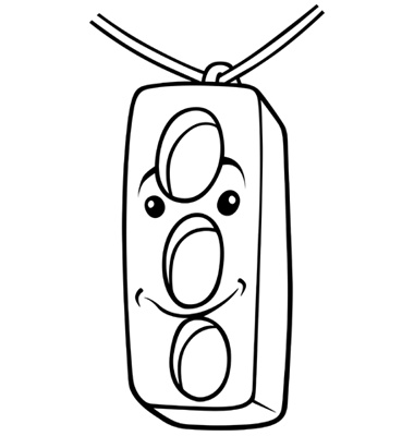 stoplight coloring page - stoplight template clipart best