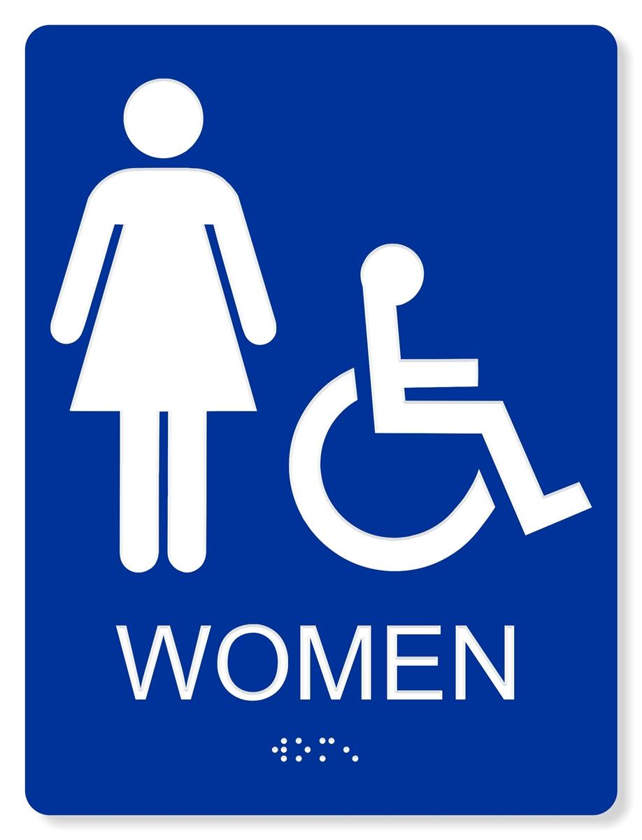Women s restroom sign clipart best for Women s bathroom sign