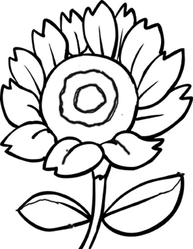 flower coloring pictures from mother nature 39 s natural beauty clipart best clipart best. Black Bedroom Furniture Sets. Home Design Ideas