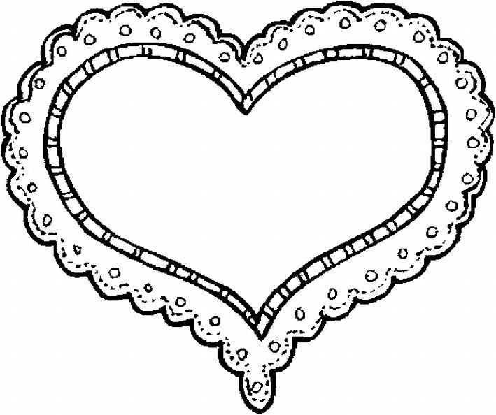 Heart Print Out