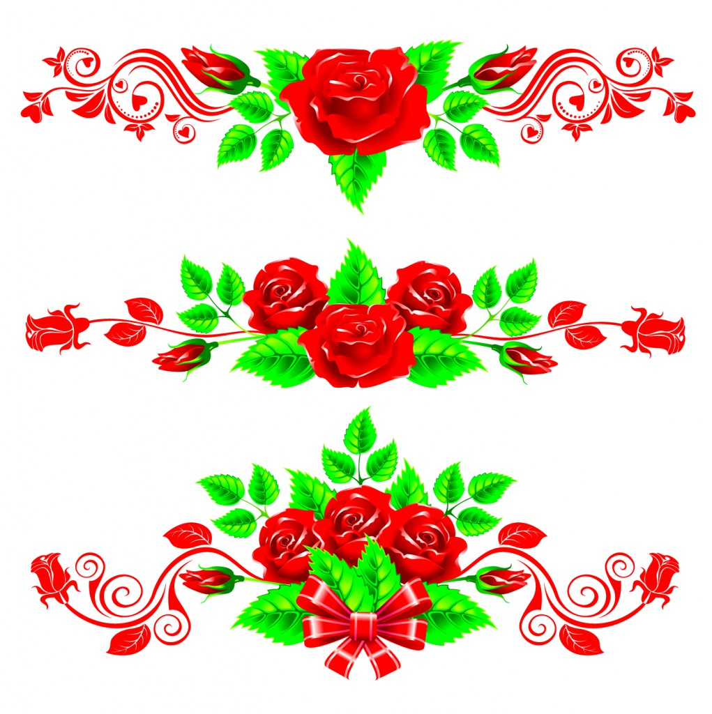 vector clipart flowers - photo #24