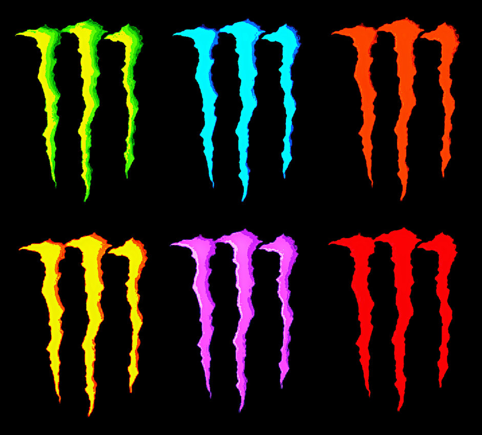 Logo Monster Energy Vector Free Clipart Best