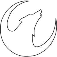 Simple Wolf Drawings Clipart Best