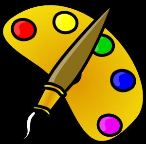 Art Party Clipart Paint Clip Painting Easel - ClipArt Best - ClipArt ...