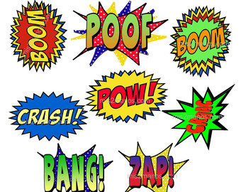 Super Hero Picture Props Printable Free ClipArt Best