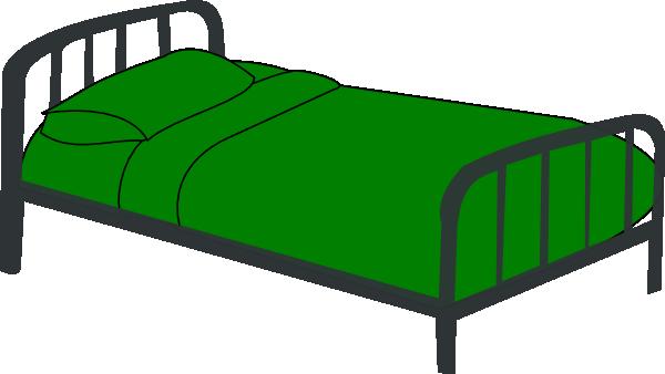 bed green clip art vector clip art online royalty free public